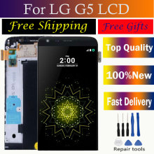For LG G5 LCD Display H850 H840 H860 F700 5.3 Original Touch Screen Digitizer with Frame Replacement