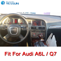 YESSUN Car Android Media Player System For Audi A6L Q7 2006 2015 Radio Stereo GPS Navigation