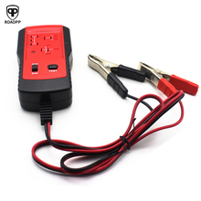 ROAOPP Simple and Easy to Operate Automotive Electronic Relay Tester Alligator Clip Car Diagnostic Tool for 12V