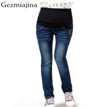 Good quality Spring autumn maternity trousers pregnancy women Pencil pants jeans
