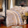 Rosa de Seda de luxo roupa de cama de algodão lençóis de cama queen size colcha Romântico/duvet/quilt cover fronha 4 pc da cama conjunto