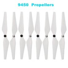 4 Pairs / 8pcs 9450 Propellers for DJI Phantom 3/2 Drone 9.4 inch CW/CCW Prop Replacement Blade Propeller Self-Tightening Props цена в Москве и Питере