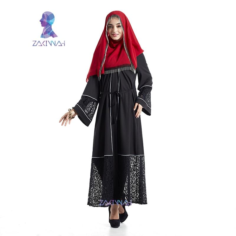 ᐃNuevo cordón diseño abaya moda Arabia Saudita ropa turca vestido ...
