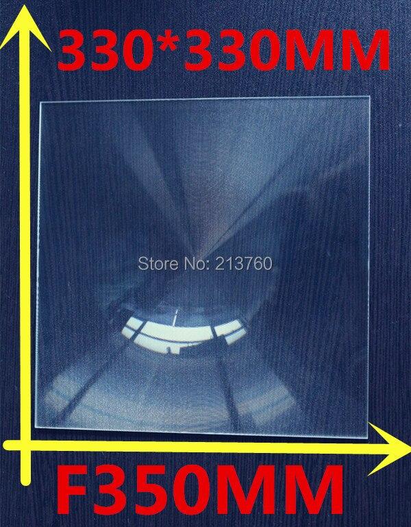 330*330MM  Solar energy condenser lens Square  Fresnel Lens Focal length 350mm,High concentrated,magnification 4-5 times  цены