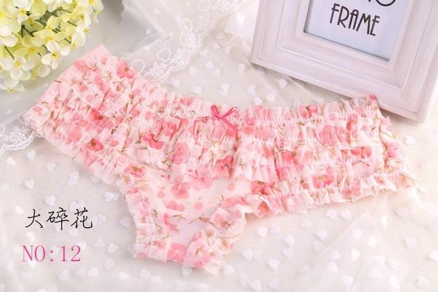 Cotton panties Factory single lace panties briefs lace underwear