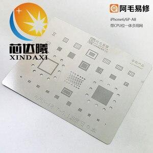 Image 5 - XINDAXI 1 CÁI/LỐC chất lượng cao bo mạch reballing tấm thiếc cho MT6735V MT6737V MT6753V I7 I7P 6 S 6SP 6 6 P