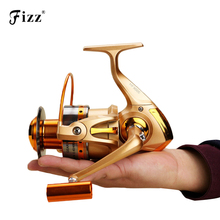 Upgraded Metal Spinning Fishing Reel 12BB Spinning Sea Fishing Reel Carp Bass Fishing Tackle HF500-HF9000 Low Price Dropshipping