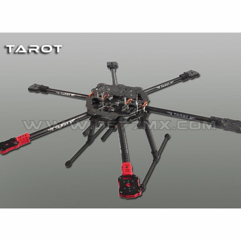 Tarot-RC TL68C01 FY690S Complet En Fiber De Carbone 6-Avions de l'axe 3 k Pliant Hexacopter 690mm pour FPV RC Photographie