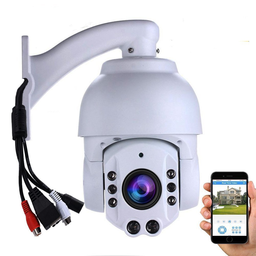 2MP ptz Camera 4 inch Mini Size Network Onvif ptz ip 20x optical zoom ptz audio ip camera with IR HD surveillance camera system high quality laser ir 500m ip ptz camera onvif 4 6 165 6mm lens 36x optical zoom for harsh environment security surveillance