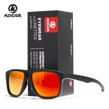 KDEAM Lightweight Polarized Sunglasses For Men and Women Polaroid Glasses Outdoor Beach Shades With Case KD9433
