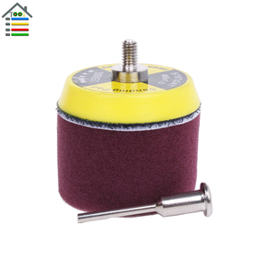 Image 5 - 16pcs 2 inch Sanding Disc Sponge Polishing Pad 50mm Dia for Dremel 3000 4000 Mini Grinder Car Waxing Hook and Loop Rotary Tool