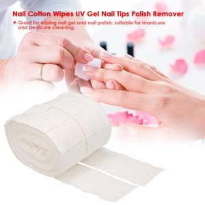 300pcs/roll Nail Cotton Wipes