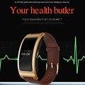 Novo Bluetooth 4.0 CK11 Esporte Bluetooth Pulseira Relógio Inteligente medidor de Pressão Arterial Monitor De Freqüência Cardíaca para Android IOS