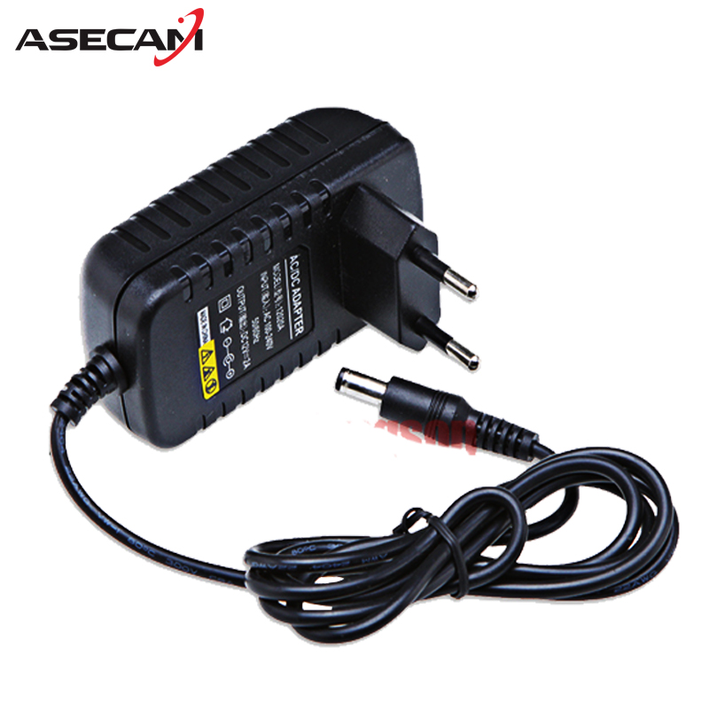 AC 100V-240V Converter Adapter DC 12V 2A 2000mA Power Supply EU US UK AU Plug 5.5mm*2.1mm for CCTV IP Camera System new dc 12v 2a ac 100 240v eu us uk au dc adapter charger power supply for led strip light cctv 2 5 5 5mm for dvr camera systems