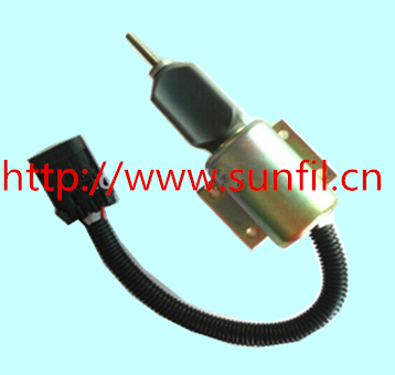 Wholesale Shutdown solenoid SA-4532-12 with protector 12V,3PCS/LOT wholesale shutdown solenoid 2001 12e2u1 d513 a32v12 12v 3pcs lot