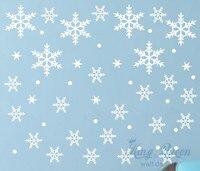 スノーフレーク壁ステッカーデカール用冷凍テーマ部屋の多くの色が選べるホーム装飾stikersため壁装