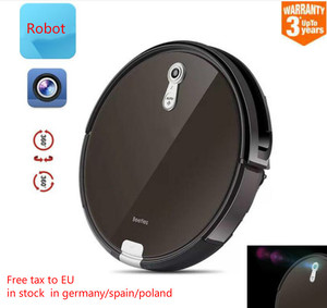 ILIFE Best Wet and Dry Robot Vacuum Cleaner for Thin Carpet Smart panoramic Navigation Route planing auto charger and resume(China)