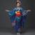 Vestuário Tradicional japonês Japão Moda Senhoras Longo Floral Kimono Yukata Qualidade Estilo Japansese Cosply Costume Dress Outfit
