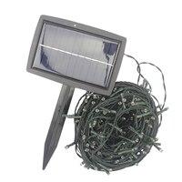 8 mode 32 meter 300 led LED String Light rechar Christmas Solar LED Fairy Light for party holiday tree Garden Decoration light