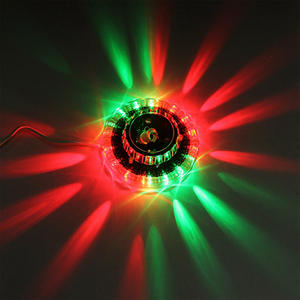 Led-Lighting Laser-Projector-Stage-Lights Sunflower Dj Wedding Christmas Portable Rgb