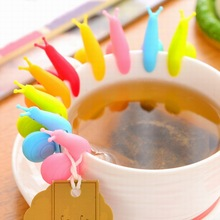 1/5/10 Mini Tea Clip Mug Hanging Cute Snail Bag Cup Holder Set Gadget Gift Rack Filter