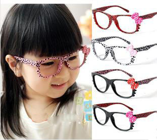 b6db0df5d50 Wholesale Children Leopard Eye Glasses Frame Kids Colourful Party Eyewear  hello kitty Spectacles without lenses