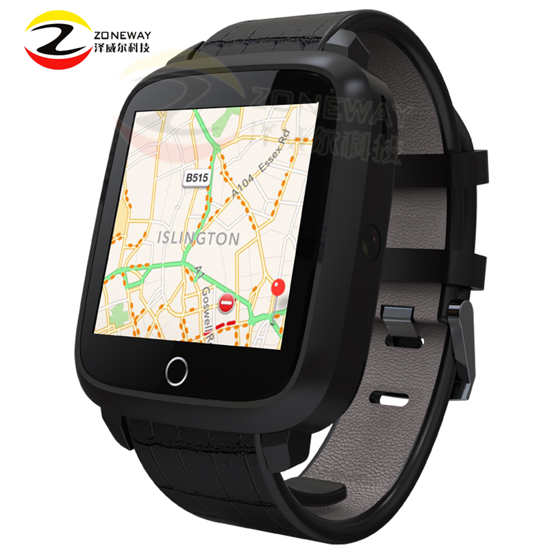 2PCS Newest U11S Smart Watch MTK6580 Quad Core Android 5.1 Watch Support GPS Wifi Camera Heart Rate Monitor Watch Smartwatch