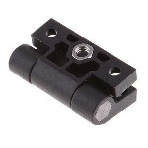 Image 4 - 1.65x1.42 אינץ 4 Countersunk חורים מתכוונן מומנט עמדת בקרת ציר שחור דלת צירים להחליף עבור Southco E6 10 301 20