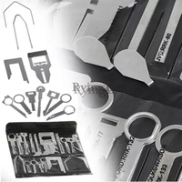 #38Pcs Vehicle Car Stereo Radio Release Removal Tools Set Keys for Be nz Sony Ford Au di Panasonic Kenwood Tool