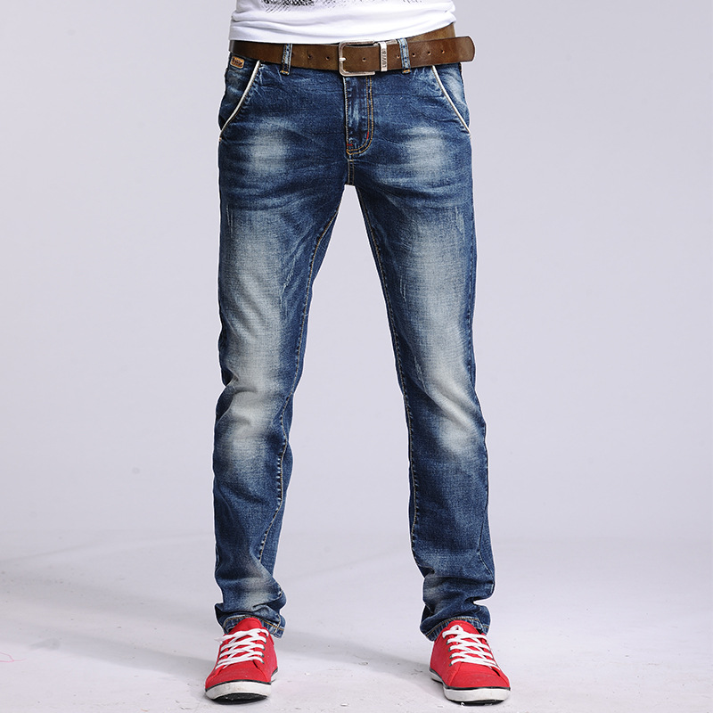 Online Buy Wholesale korean skinny jeans men from China korean