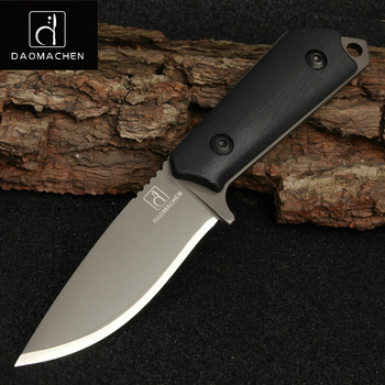 DAOMACHEN High Carbon Steel Outdoor Tactical Knife Survival Camping Tools Collection Hunting Knives With Imported K sheath 1