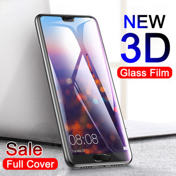 3D Full Cover Tempered Glass on the For Huawei P20 Pro P10 Lite Plus Screen Protector For P9 Lite Plus P Smart Protective Film Phone Screen Protectors