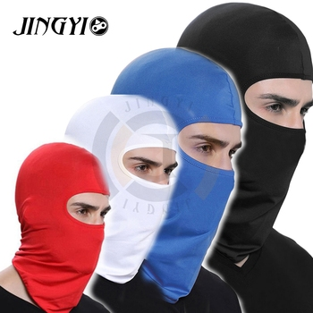 JINGYI Thermal Fleece winter balaclava ski face mask motorcycle For masque ghost mask maske cubrebocas face mask ski masque moto face mask