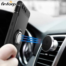 все цены на Case For Huawei Mate 20 X 9 Lite 10 Pro Y9 2019 Cases Finger Ring Car Magnet Cover For Huawei P20 P10 Lite P30 Pro P8 Lite 2017