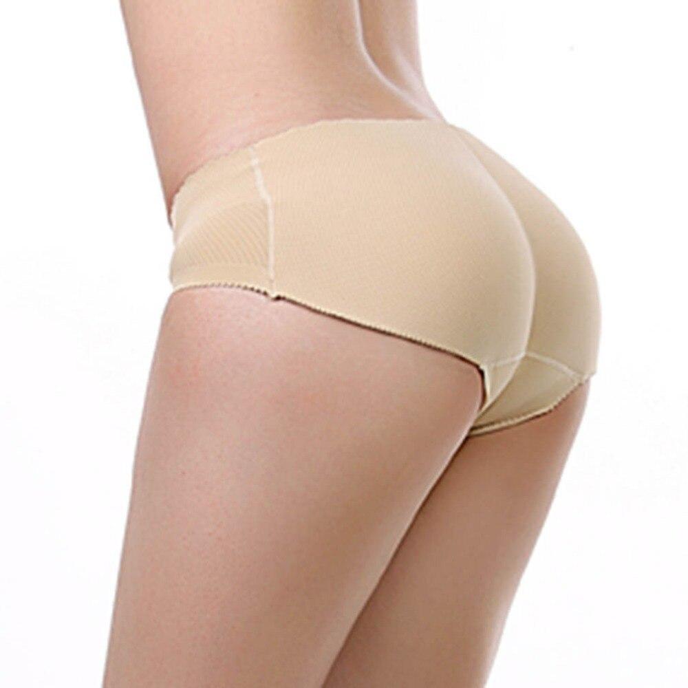 b76079511d93 Hot Sexy Padded Panties Seamless Lady Sexy Panties Ultra thin Push Up  Lingerie Underwear Butt Lift Briefs Hip Enhancer Shaper-in Briefs from  Underwear ...