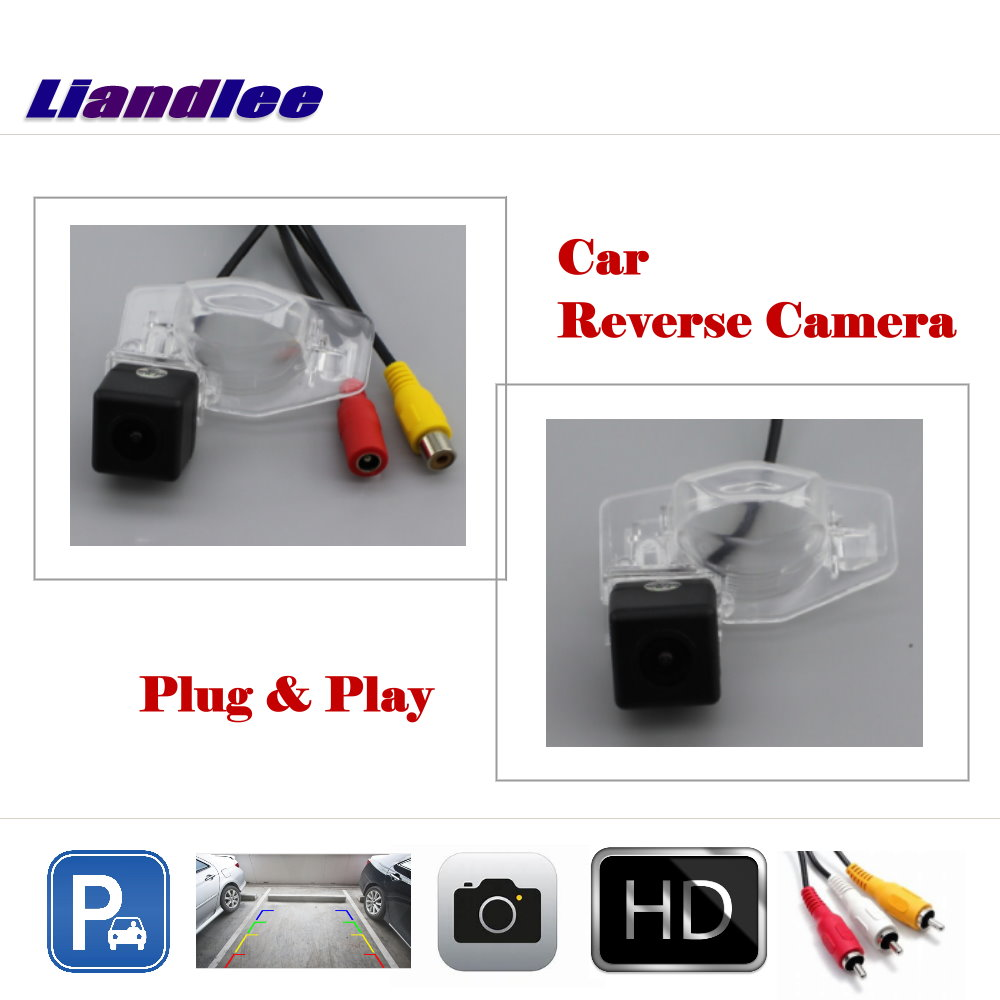 Liandlee Auto Reverse Rear Camera For Honda CR V CRV 2013 2015 HD CCD Back Parking Camera Work with Car Factory Screen in Vehicle Camera from Automobiles Motorcycles