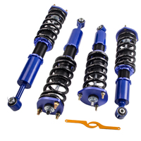 Coilovers Suspension Kits For LEXUS IS300 97 05 Height Adjustable Shock Absorber Spring Top Mount Front Rear Camber Plate