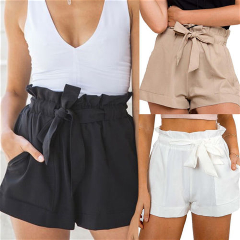 New2018 woman sexy high waist hot summertime relaxation minishort beach cool and refreshing   shorts