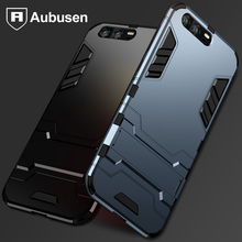 Aubusen Silicone case for huawei honor 9 Luxury Hybrid Shockproof Hard Iron Man Armor Defender Silicone Case for huawei honor 9