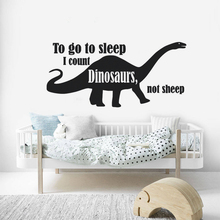 Dinosaur Wall Decal Kids Boys Room Decor Removable Design Sticker Quote Poster Lover Murals AY1481