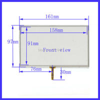 161mm 97mm Navigation 4 Wire Welding Resistive Touch Screen 161X97mm Suitable For All 7inch GPS Navigation