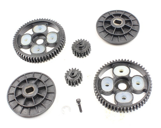 58T 16T 55T 19T spur pinion sets for Baja Front Wheel of 1 5 hpi baja