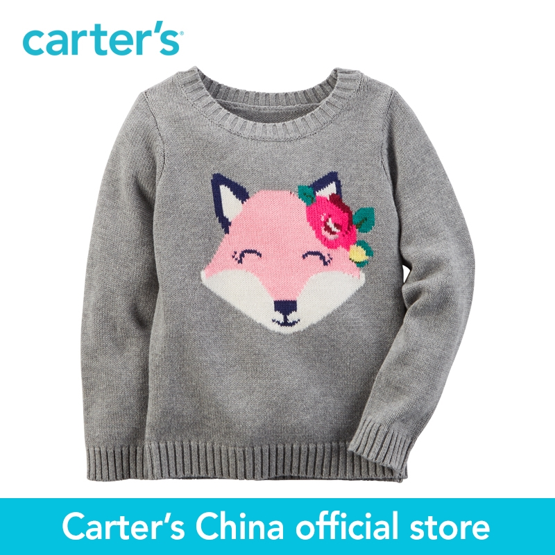 Carter s 1pcs baby children kids Fox Sweater 235G445 sold by Carter s China official store