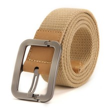 Pin Buckle Canvas Belt For Men