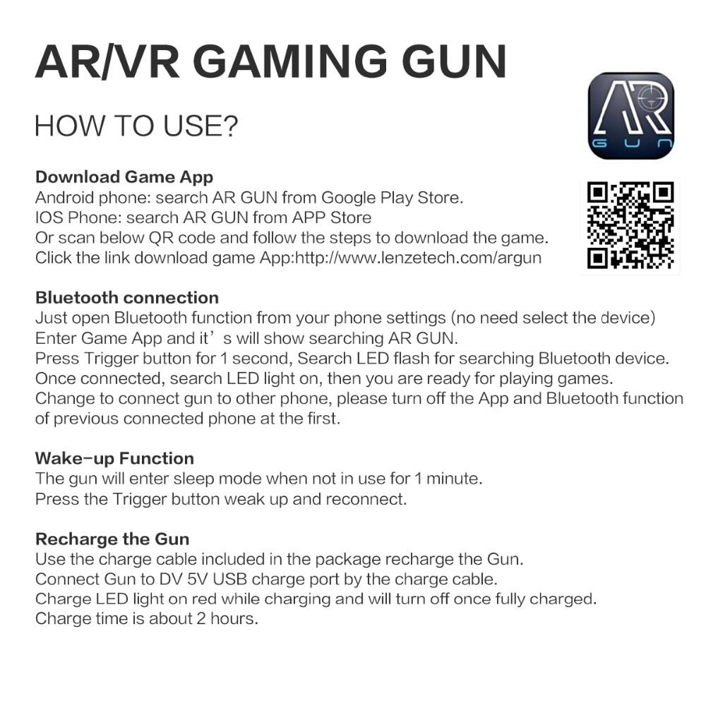 iPega PG-9082 PG 9082 Bluetooth Gamepad Shooting AR Gun Joystick for  Android iOS Phone PC AR Game Controller