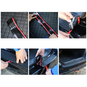 زلورد المطاط العالمي الحرس الخلفي واقي مصد السيارة غطاء الكسوة اكسسوارات لتويوتا C-HR RAV4 فورتشنر مازدا 3 Cx-5