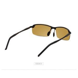 Image 3 - 2018 ナイトビジョンメガネ偏光サングラス男性ファッションナイトビジョン運転サングラスサングラス男性眼鏡昼と夜