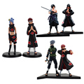 2pcs/lot 15cm Naruto Uchiha Sasuke Uchiha itachi Yahiko Konan PVC Action Figures Collectible Model Toy for gifts