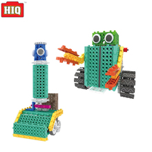 Cars Blocks Electric Remote Control DIY Robot Toys As My Robot Time Arduino Makeblock Kit 2in1 Science Educational Toys For