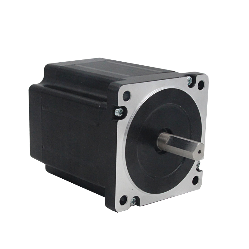 цена на Nema 34 3phase 4.5N.m 637ozf.in stepper Motor 86mm frame 12mm shaft 86J12103-650 JMC